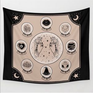 Witch Accessories tapestry from Society 6
